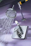 Avon Antique Concealed Shower Mixer - Chrome Finish - 1 LEFT