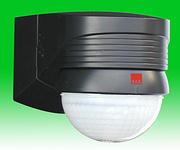 luxomat 280 pir 2kw load 16m detection black. Black Bedroom Furniture Sets. Home Design Ideas