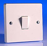 1 Gang 2 Way Light Switch 10 Amp