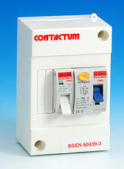 Shower Protection Unit 63 Amp 30mA RCD with 50 Amp MCB