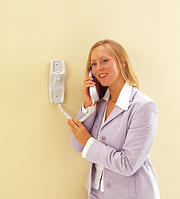 Additional Handset for Audio Door Entry Systems