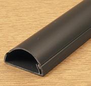 D Line Mini Trunking 50mm X 25mm Black Self Adhesive