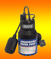 Submersible Pump 1900 Gals per Hour + Float Switch