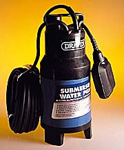 Submersible Pump Dirty Water 3100 Gals + Float Switch