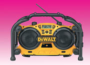 Dewalt FM Radio / Battery Charger