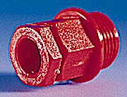 20mm Nylon Compression Gland Red for Cable 8-13mm²