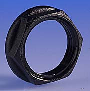 25mm Nylon Lock Ring - Black