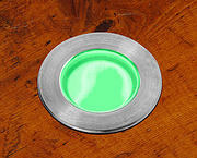 Mini LED Walkover Light 0.5w  - Green
