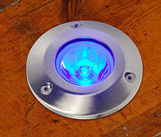 1w High Powered LED Mains Walk Over - Blue