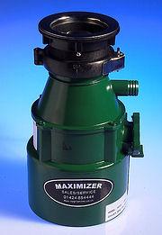 Maxmatic Maximiser Waste Disposal