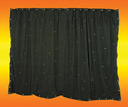 3 x 2m Black Starcloth with 96 RGB LEDs