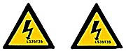 Warning Triangle Label