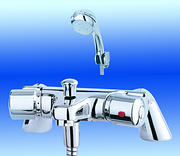 Aire Thermostatic Bath & Shower Mixer Tap