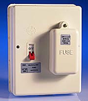 60 Amp Switchfuse SP & N Insulated - Ex Fuse