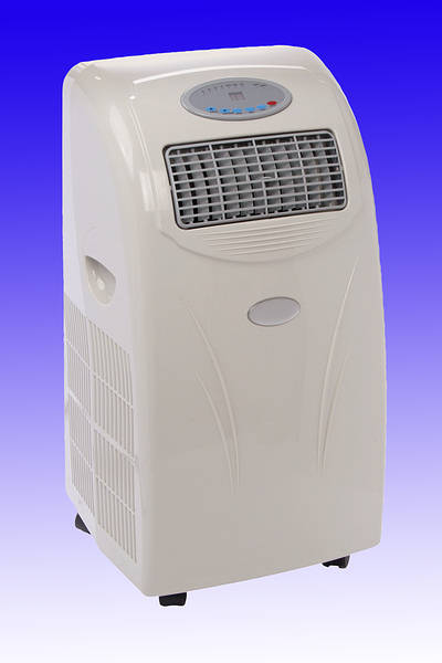 Portable Air Conditioner 10000 Btu + Heat Pump - Damaged