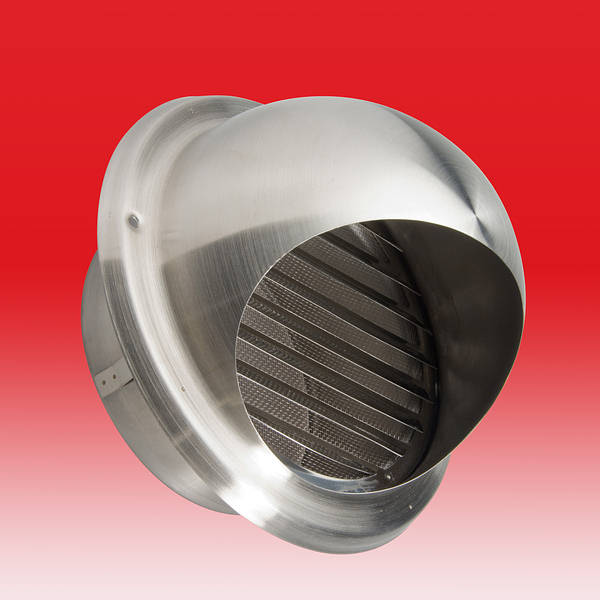 6 Inch Stainless Steel Round Cowl C W Internal Louvre Amp Mesh