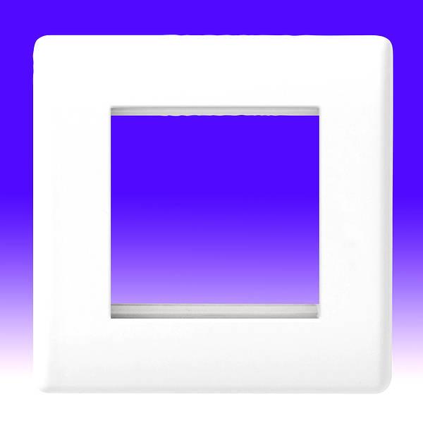 BG 2 Module Nexus Front Plate White 8EMS2-01 New In Box