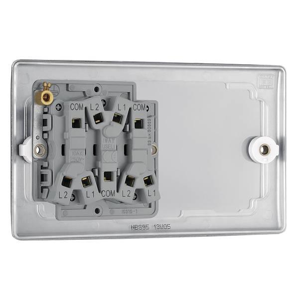 4 Gang 2 Way Light Switch - Nexus
