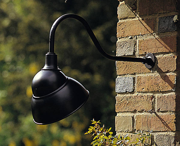 Sign Light Black Finish 100w Es Lamp
