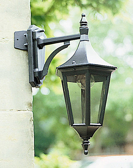 Java Major Corner Bracket Black Excludes Lantern