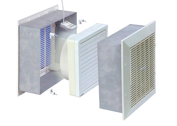 9 Inch Wall Extractor Fan