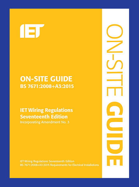 Iet On Site Guide 17th Edition