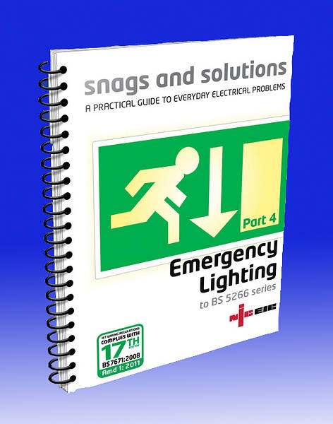 product photo. Description. Snags and Solutions 4. Emergency Lighting Systems to BS ...  sc 1 st  TLC Electrical Supplies & Snags u0026 Solutions Part 4 - Emergency Lighting to BS 5266-1