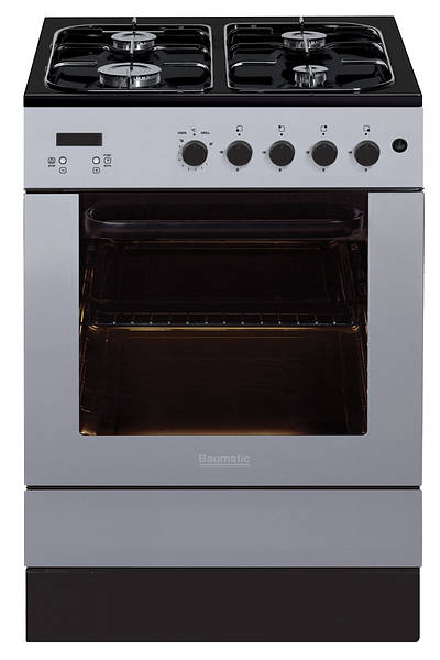 60cm Slot In Gas Cooker Stainless Steel