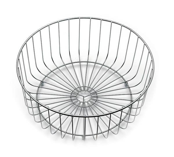 round main bowl wire basket