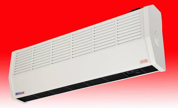 Charmant ... 3kW High Level Curtain Fan Heater