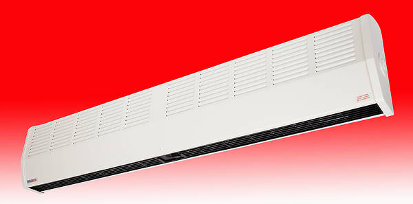 6kw High Level Air Curtain Fan Heater