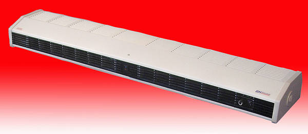 6kw High Level Air Curtain Fan Heater With Thermostat