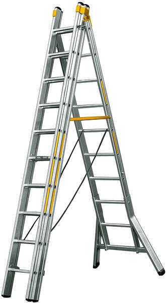 premium 3 section ladder