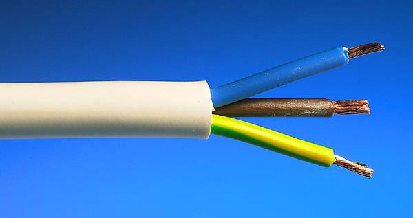 1 5mm 178 3 Core Heat Resistant Flex White 100m