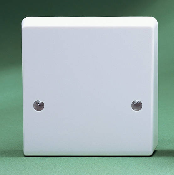 Cooker Cable Outlet Plate
