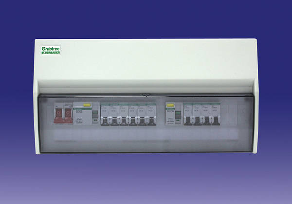 CBSBI00218 13 way starbreaker dual rcd consumer unit 10 mcb's 3 blank crabtree fuse box at panicattacktreatment.co