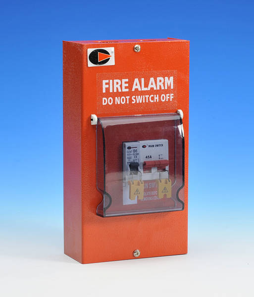 Fire Alarm Switch 45a Main Switch Amp 6a Mcb Ip40