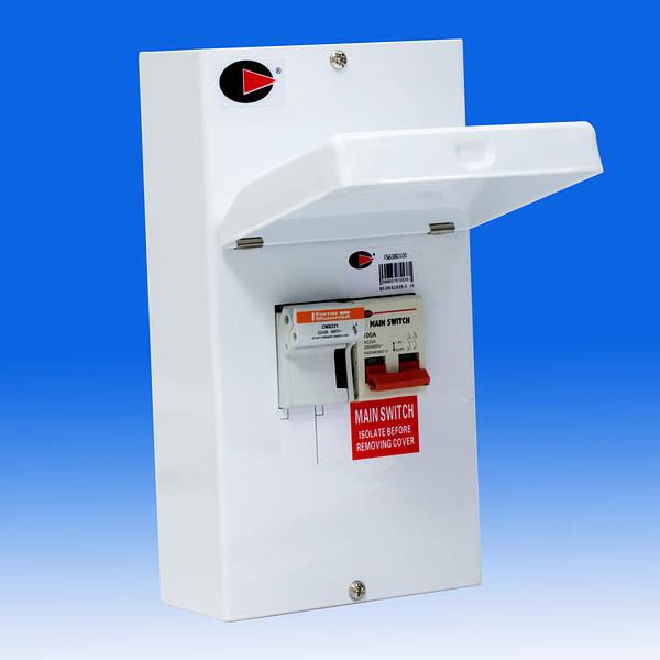 Wylex 100 Amp Sp U0026n Switchfuses