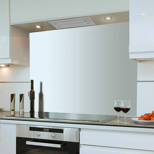 65cm X 30cm Small Ceiling Hood In Stainless Steel