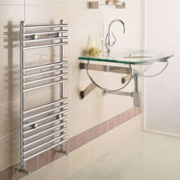 Quinn Heated Towel Rails: Ladder Towel Rail 800mm X 600mm