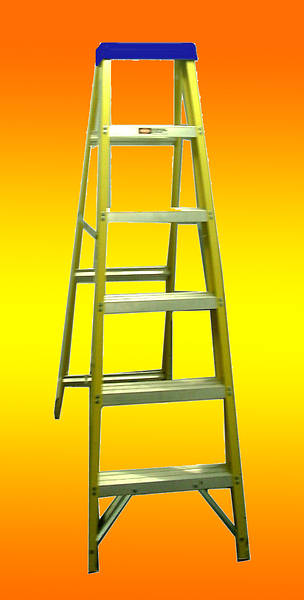 6 Tread 1 83m Glass Fibre Step