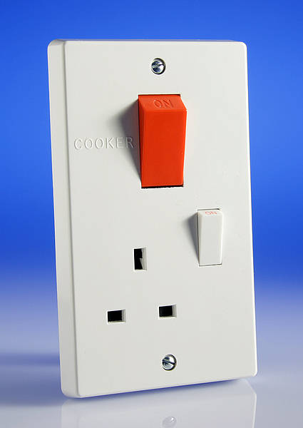 45 Amp Cooker Socket Control Unit