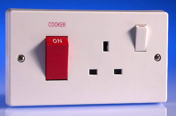 Cooker Control Unit ~ Amp cooker control unit white
