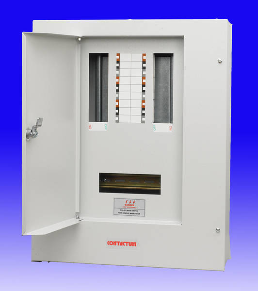 6 Way Tp Amp N Distribution Board 200a Max Incomer