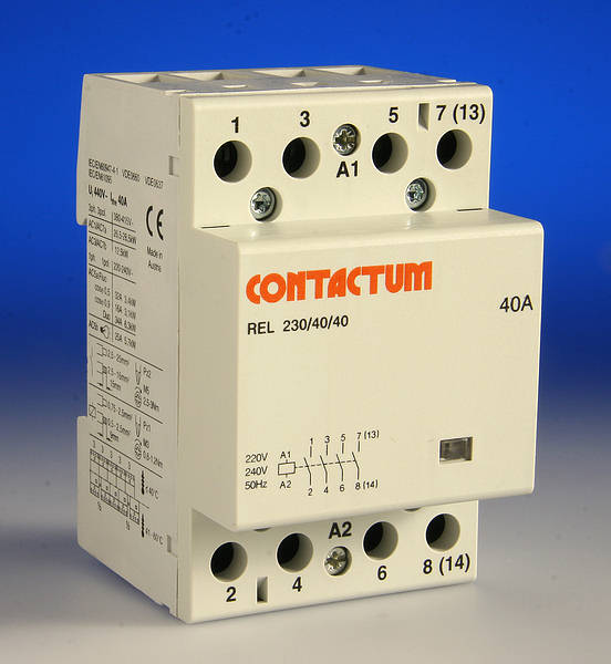 Swell 40 Amp 4 Pole Contactor 3 Module Wiring Digital Resources Timewpwclawcorpcom