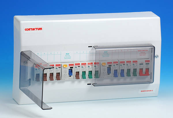 Hager Fuse Box Australia : Contactum cp dual rcd consumer units
