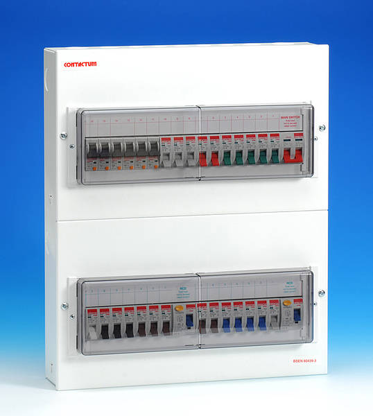30 Way Metal Dual Split Consumer Unit