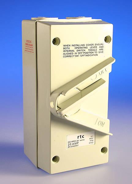 Weatherproof Isolator Switch Ip55 Ip65