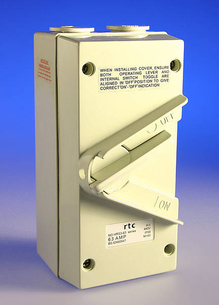 63 Amp Tp Isolator Weatherproof Ip56