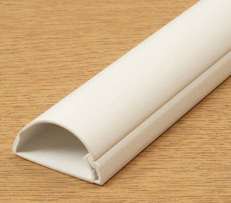 D Line Mini Trunking 50mm X 25mm White Self Adhesive
